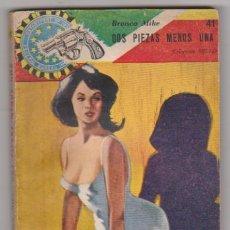 Cómics: DOS PIEZAS MENOS UNA. COLECCIÓN SELLO Nº 41. BUENOS -AIRES 1965.. Lote 128633818