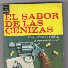 Cómics: HOWARD BROWNE. EL SABOR DE LAS CENIZAS. SIN USAR.1ª EDICIÓN NOVARO 1966.. Lote 128633822