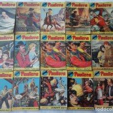 Cómics: COLECCION PANTERA 15 NºS - BRUGUERA 1955-56 - KEITH LUGER, ANTONIO BERNAL, JULIO VIVAS. Lote 128879527