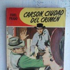 Cómics: COLECCIÓN KANSAS Nº 11 - FIDEL PRADO - ANTONIO GUERRERO DIBUJO - 1958 BRUGUERA - DON MURRAY FOTO. Lote 128880455
