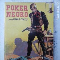 Cómics: COLECCIÓN BISONTE Nº 505 - DONALD CURTIS - POKER NEGRO - NUEVA 1958 - BRIGITTE BARDOT FOTO - . Lote 128885075