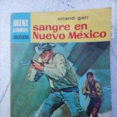 Comics: MINI LIBROS BRUGUERA SERIE OESTE Nº 386 - ORLAN GARR - SANGRE EN NUEVO MÉXICO - GREGORI PECK FOTO - . Lote 129095775