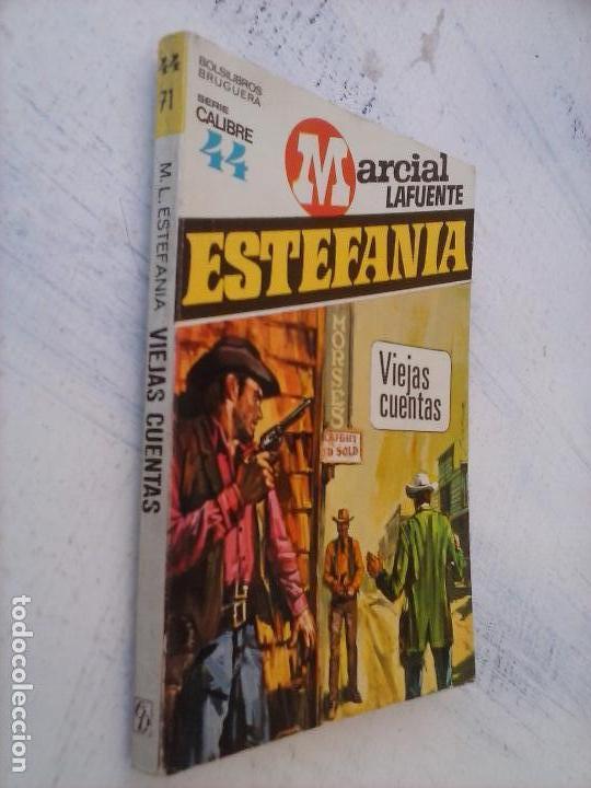 Cómics: CALIBRE 44 Nº 71 - MARCIAL LAFUENTE ESTEFANÍA - NUEVA - VIEJAS CUENTAS - Foto 2 - 129111959