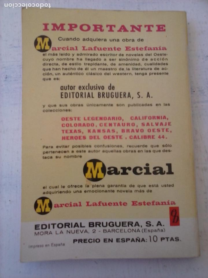 Cómics: CALIBRE 44 Nº 71 - MARCIAL LAFUENTE ESTEFANÍA - NUEVA - VIEJAS CUENTAS - Foto 3 - 129111959