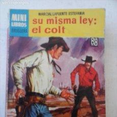 Comics: MINI LIBROS BRUGUERA OESTE Nº 369 - ESTEFANÍA - RICKY NELSON FOTO. Lote 129268507