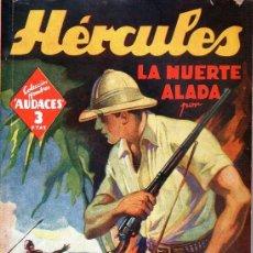 Cómics: ADOLFO MARTÍ : HÉRCULES LA MUERTE ALADA - HOMBRES AUDACES MOLINO, 1942. Lote 129732407