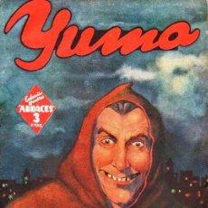 Cómics: RAFAEL MOLINERO : YUMA LA TORRE DEL DRAGÓN- HOMBRES AUDACES MOLINO, 1943. Lote 129743051