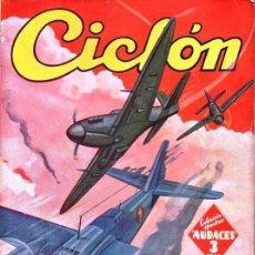 Cómics: AVILÉS BALAGUER : CICLÓN LA ISLA DE MOLOKAI - HOMBRES AUDACES MOLINO, 1943. Lote 129743199