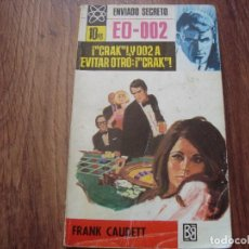 Cómics: ENVIADO SECRETO N.105 FRANK CAUDETT. Lote 130625630