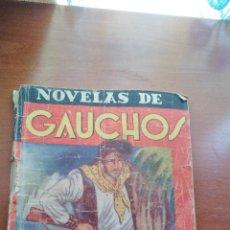 Cómics: NOVELAS DE GAUCHOS Nº 5 - POR FEDERICO MEDIANTE - EL BOSQUE DE PIEDRA - EDICIONES ESPAÑA AÑOS 40. Lote 131351534