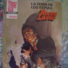 Cómics: LA FERIA DE LOS ESPIAS ROCCO LASER BOLSILIBROS SERVICIO SECRETO Nº 1722 BRUGUERA POLICIACO. Lote 131785726