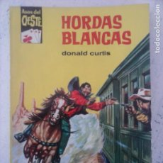 Cómics: ASES DEL OESTE Nº 179 - DONALD CURTIS - COMO NUEVA - AUDREY HEPBURN FOTO - 1962 - E.FREIXAS PORTADA. Lote 133588134