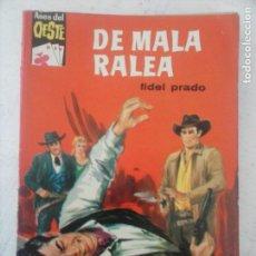 Cómics: ASES DEL OESTE Nº 183 - FIDEL PRADO - COMO NUEVA - AUDREY HEPBURN FOTO - DE MALA RALEA. Lote 133588926
