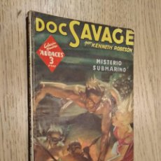 Cómics: HOMBRES AUDACES. Nº 138. DOC SAVAGE. MISTERIO SUBMARINO. KENNETH ROBESON. MOLINO 1947. . Lote 133593422