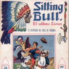 Cómics: SITTING BULL EL ÚLTIMO SIOUX Nº 29 - EL DESPERADO DEL VALLE DE YOSEMITE. Lote 134269818