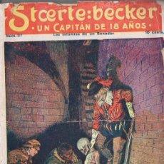 Cómics: STOERTE BECKER UN CAPITÁN DE 18 AÑOS Nº 37 - INFAMIAS DE UN SENADOR. Lote 134270174