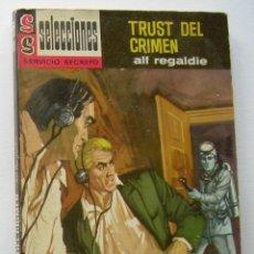 Cómics: TRUST DEL CRIMEN. ALF REGALDIE. SELECCIONES SERVICIO SECRETO Nº 118. ED. BRUGUERA,1964. 2ª EDICION. . Lote 134907274