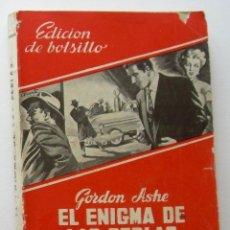 Cómics: EL ENIGMA DE LAS PERLAS. GORDON ASHE. LAS NOVELAS DE LA PALMA, Nº 6. ED. MAUCCI. Lote 134921034
