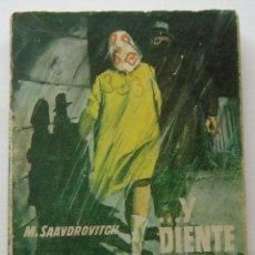 Cómics: ...Y DIENTE POR DIENTE. M. SAAVDROVITCH. COLECCION F.B.I, Nº 728. ED. ROLLAN, 1964 1ª EDICION. Lote 134925386