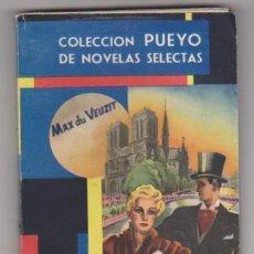 Comics : PUEYO Nº 308. LA COMEDIA TRAS EL DRAMA. AÑO 1949. Lote 137526682