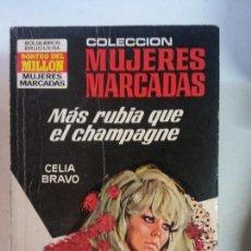 Cómics: BJS, INTERANTE REVISTA, TIPO CORIN TELLADO, CELIA BRAVO, MAS RUBIA QUE EL CHAMPAGNE. Lote 137624802