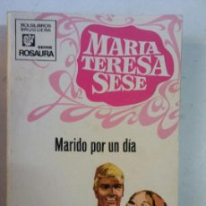 Cómics: BJS, INTERANTE REVISTA, TIPO CORIN TELLADO, MARIA TERESA SESE, MARIDO POR UN DIA. Lote 137624862