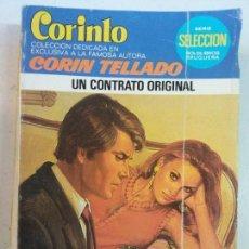 Cómics: BJS, INTERANTE REVISTA, TIPO CORIN TELLADO, UN CONTRATO ORIGINAL. Lote 137624890