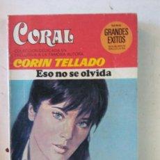 Cómics: BJS, INTERANTE REVISTA, TIPO CORIN TELLADO, ESO NO SE OLVIDA. Lote 137626570