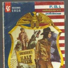 Cómics: CON LOS OJOS DEL MUERTO. J. TELL. SELECCIONES F.B.I.Nº 248. EDITORIAL EASA - ANDINA, 1981. Lote 138966626