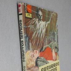 Cómics: SUSURROS TÉTRICOS / PETER DEBRY / PUNTO ROJO Nº 60 / BRUGUERA 1ª EDICIÓN 1963. Lote 140373826
