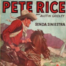 Cómics: PETE RICE : SENDA SINIESTRA (HOMBRES AUDACES MOLINO, 1945). Lote 141504766