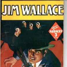 Cómics: JIM WALLACE : NICK CARTER - UN CRIMEN EN LOS AIRES (HOMBRES AUDACES MOLINO, 1947). Lote 141504974