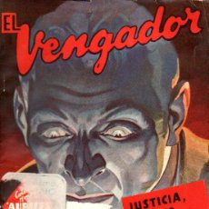 Cómics: K. ROBESON : EL VENGADOR Nº 1 - JUSTICIA SOCIEDAD ANÓNIMA (HOMBRES AUDACES MOLINO, 1948). Lote 141505150