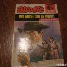 Cómics: BISONTE SERIE ROJA N. 1244 SILVER KANE. Lote 143913034