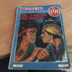 Cómics: LA SOMBRA DEL MUERTO (B. CAREY) BIBLIOTECA ORO (COIM18). Lote 147088330