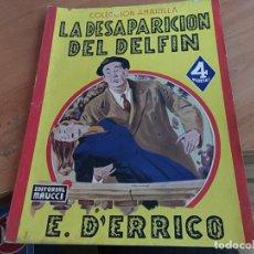 Cómics: LA DESAPARICION DEL DELFIN (E. D'ERRICO) ED. MAUCCI (COIM18). Lote 147089350