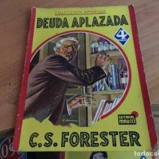 Cómics: DEUDA APLAZADA (FORESTER) ED. MAUCCI (COIM18). Lote 147090062