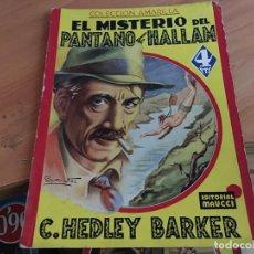 Cómics: EL MISTERIO DEL PANTANO DE HALLAM (HEDLEY BARKER) ED. MAUCCI (COIM18). Lote 147090222