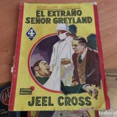 Cómics: EL EXTRAÑO SEÑOR GREYLAND (JEEL CROSS) ED. MAUCCI (COIM18). Lote 147092862