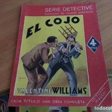 Cómics: EL COJO (VALENTINE WILLIAMS) ED. MAUCCI (COIM18). Lote 147093090