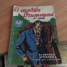Cómics: EL CAPITAN DRUMMOND LA NOVELA AVENTURA Nº 60 (COIM18). Lote 147094574