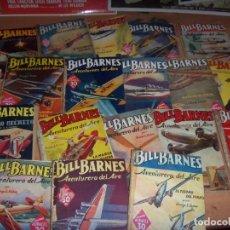 Cómics: BILL BARNES AÑOS 40 NOVELAS 34 GUERRA CC.FF. P/UNIDAD OFERTA PULPS. Lote 147110986
