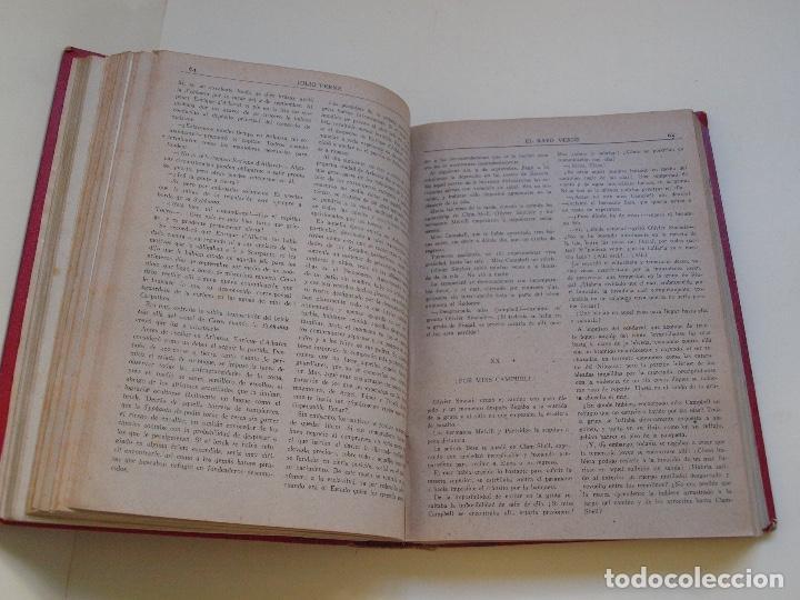 Cómics: DOS TOMOS ENCUADERNADOS CON 12 NOVELAS PULP DE JULIO VERNE DE LA EDITORIAL SÁENZ DE JUBERA - c. 1940 - Foto 15 - 147142546
