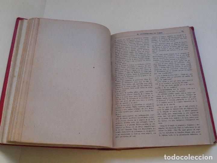 Cómics: DOS TOMOS ENCUADERNADOS CON 12 NOVELAS PULP DE JULIO VERNE DE LA EDITORIAL SÁENZ DE JUBERA - c. 1940 - Foto 18 - 147142546