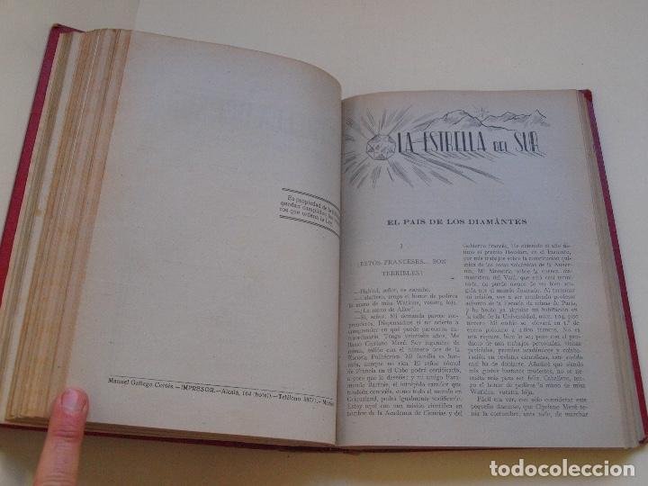 Cómics: DOS TOMOS ENCUADERNADOS CON 12 NOVELAS PULP DE JULIO VERNE DE LA EDITORIAL SÁENZ DE JUBERA - c. 1940 - Foto 22 - 147142546