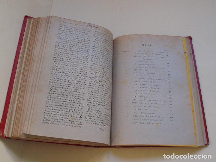Cómics: DOS TOMOS ENCUADERNADOS CON 12 NOVELAS PULP DE JULIO VERNE DE LA EDITORIAL SÁENZ DE JUBERA - c. 1940 - Foto 23 - 147142546