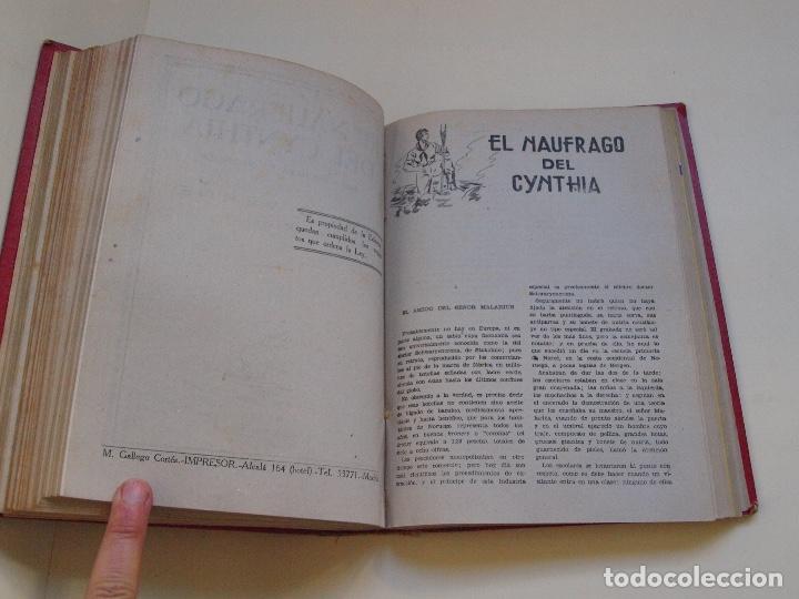 Cómics: DOS TOMOS ENCUADERNADOS CON 12 NOVELAS PULP DE JULIO VERNE DE LA EDITORIAL SÁENZ DE JUBERA - c. 1940 - Foto 26 - 147142546