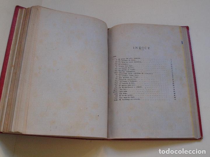 Cómics: DOS TOMOS ENCUADERNADOS CON 12 NOVELAS PULP DE JULIO VERNE DE LA EDITORIAL SÁENZ DE JUBERA - c. 1940 - Foto 27 - 147142546