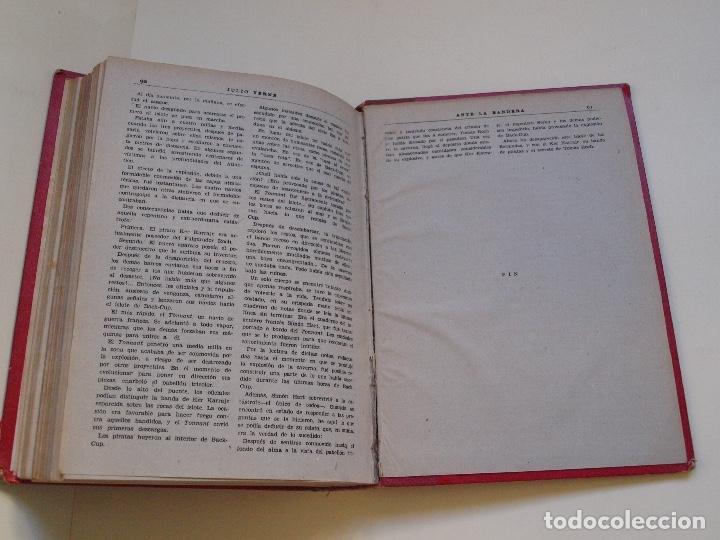 Cómics: DOS TOMOS ENCUADERNADOS CON 12 NOVELAS PULP DE JULIO VERNE DE LA EDITORIAL SÁENZ DE JUBERA - c. 1940 - Foto 30 - 147142546