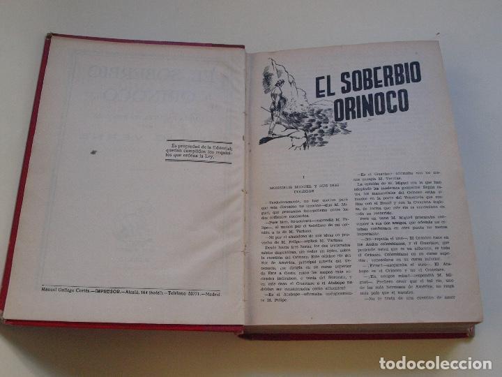 Cómics: DOS TOMOS ENCUADERNADOS CON 12 NOVELAS PULP DE JULIO VERNE DE LA EDITORIAL SÁENZ DE JUBERA - c. 1940 - Foto 37 - 147142546